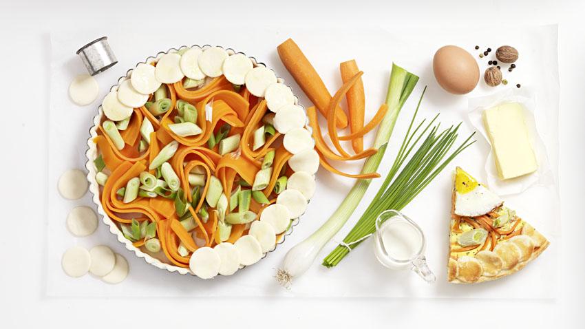 wortelquiche