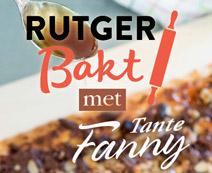 Rutger bakt met Tante Fanny