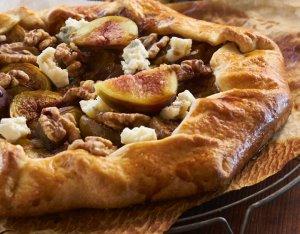 Recept: Galette met vijgen en gekarameliseerde uien