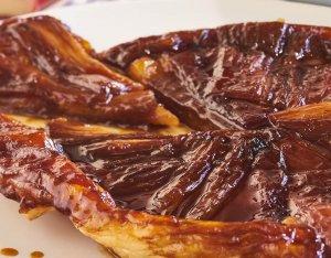 Recept: Rabarber tarte tatin