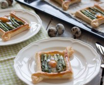 Recept: Tartelettes met groene asperges