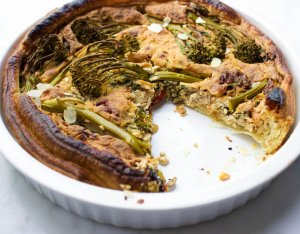 Recept: Vegan quiche