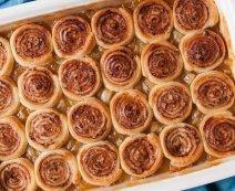 Recept: Cinnamon roll crumble met appel
