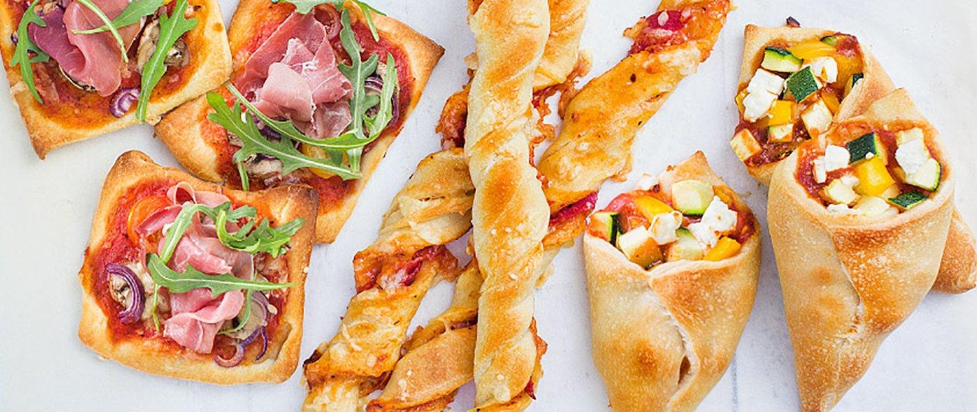 3 x aan de slag met pizzadeeg makkelijk en snel