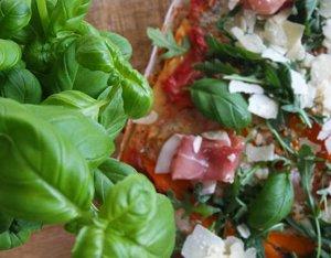 Recept: Speltpizza met truffelmascarpone