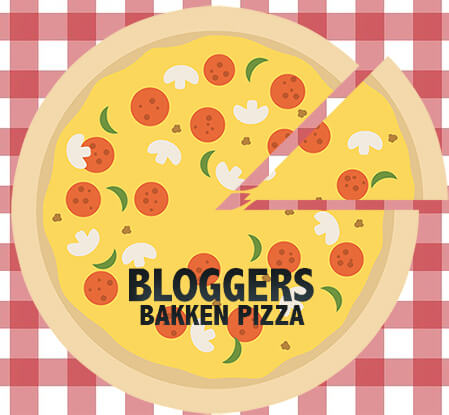 Pizza met bloggers