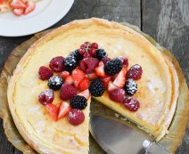 Recept: Cheesecake met rood fruit