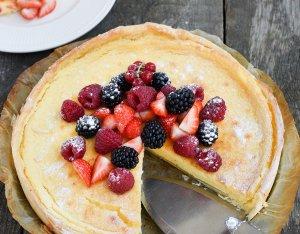 Recept: Cheesecake met rood fruit