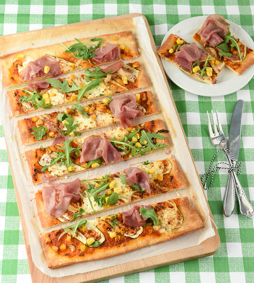 Courgette Pizza Tante Fanny