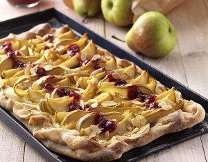 Flammkuchen met peren