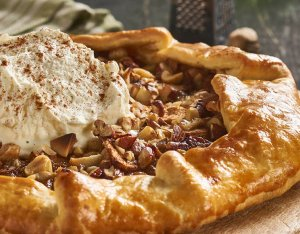 Recept: Appel galette met noten