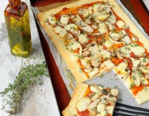Recept: Pizza Funghi
