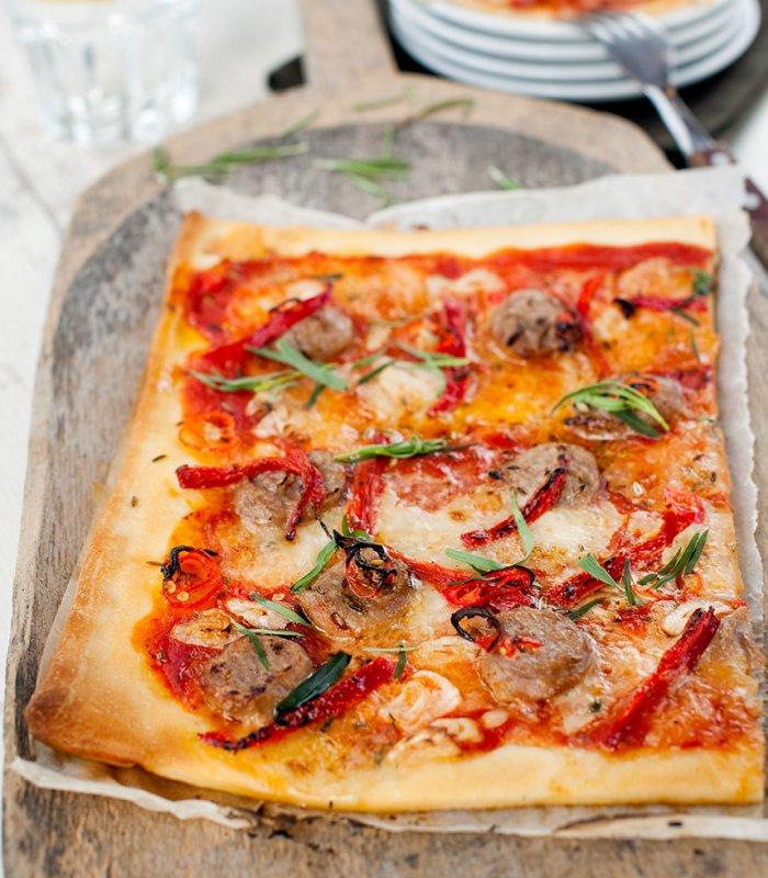 Pizza Salsiccia Tante Fanny
