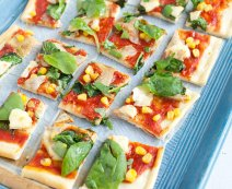 Recept: Pizza Verdure