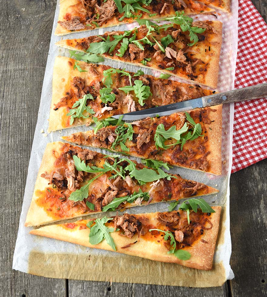 Pulled Pork Pizza Tante Fanny