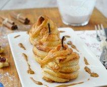 Recept: Stoofpeer in bladerdeeg met amandelspijs