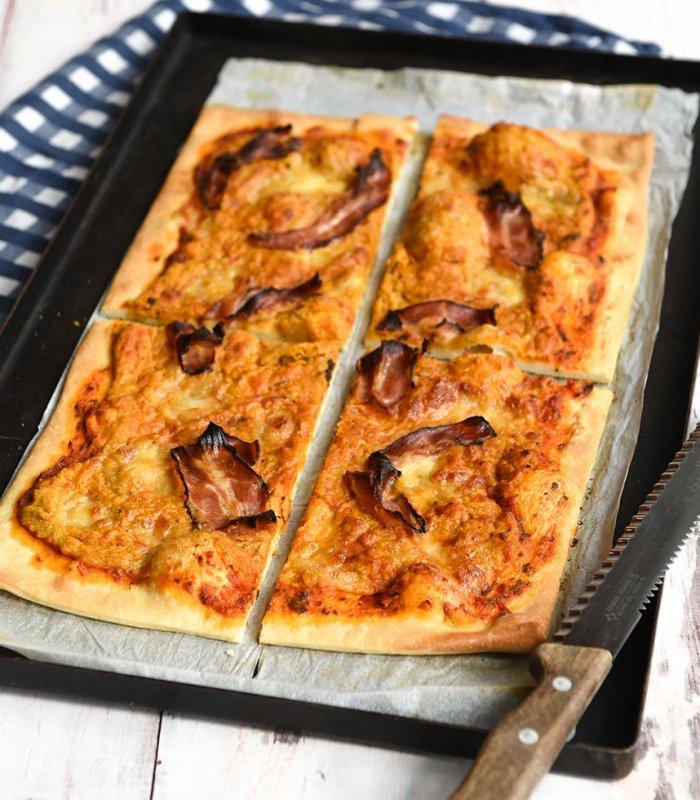Zeeuwse spek Pizza Tante Fanny