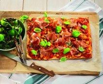 Recept: Bonte groentenpizza