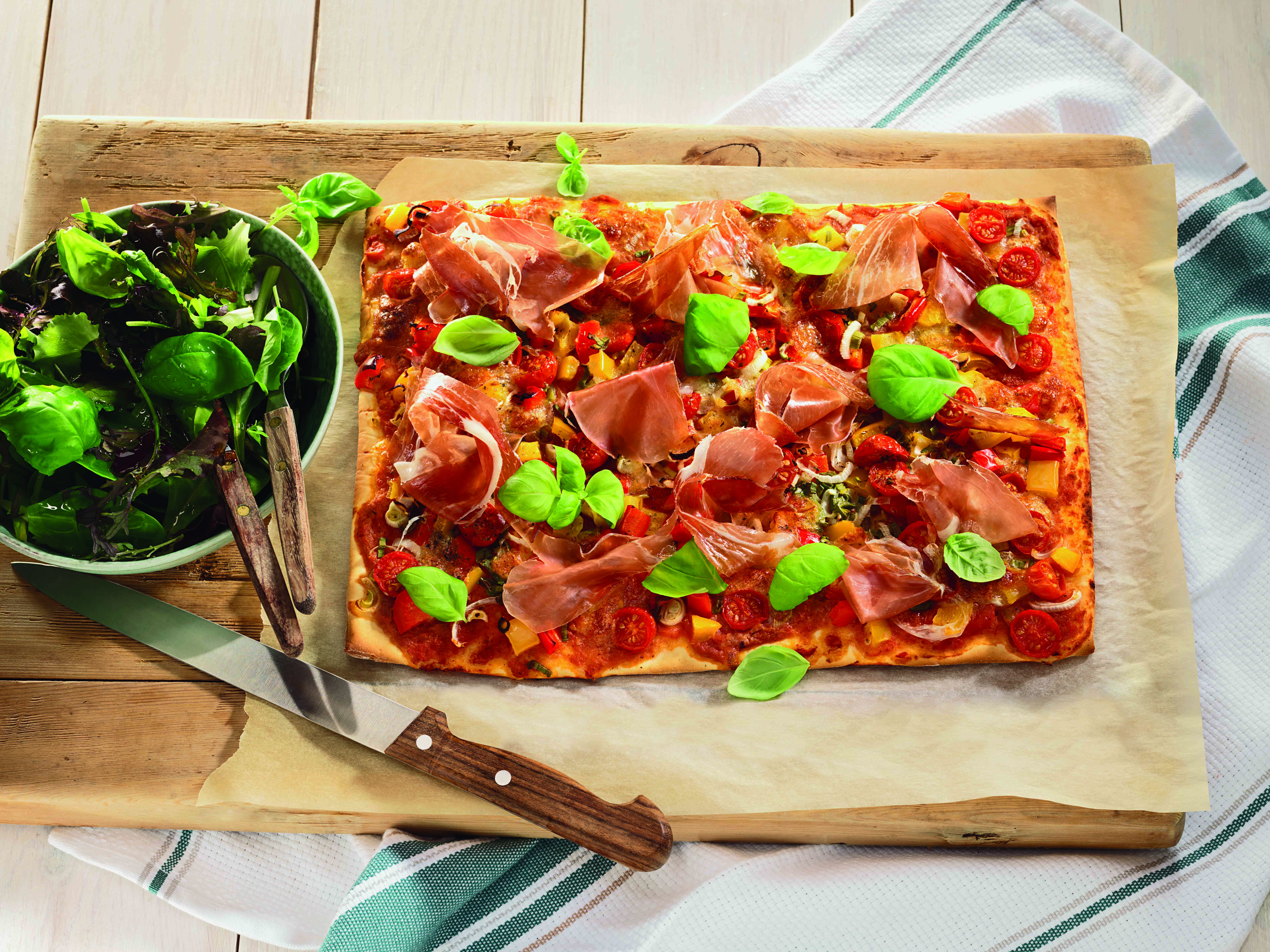 Bonte groentenpizza - Tante Fanny