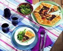 Recept: Galette met aubergine
