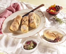 Recept: Mini pizzastrudels