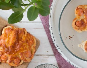Recept: Worstenbloemen met kaas