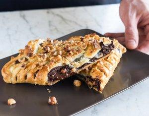 Recept: Chocoladereep in bladerdeeg