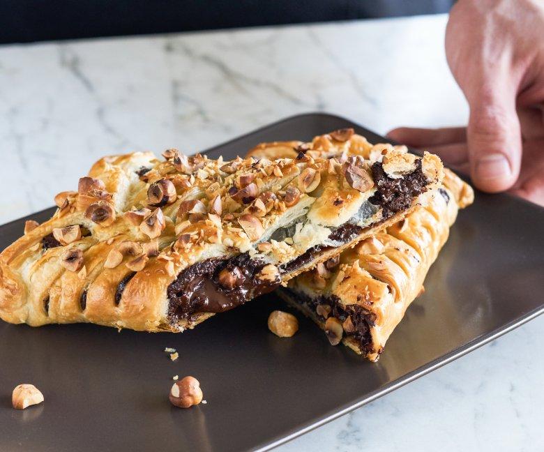 Chocoladereep in bladerdeeg - Tante Fanny
