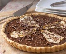 Recept: Chocoladetaart met peer