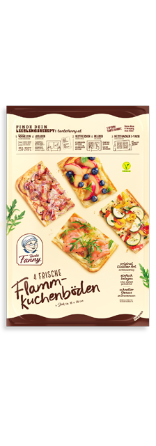 Verse Flammkuchenbodems - Tante Fanny