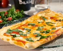 Recept: Pizza Margherita