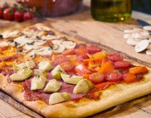 Recept: Pizza quattro stagioni