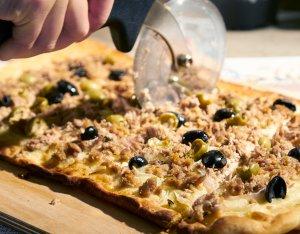 Recept: Maaltijdpizza met tonijn