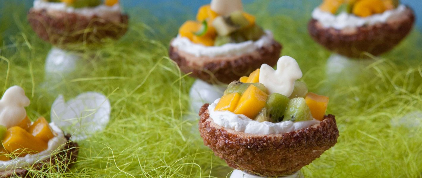 Recept: Nestjes van bladerdeeg met roomvulling en fruit