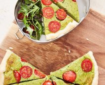 Recept: Avocado quiche