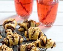 Recept: Opgerolde Nutella koekjes