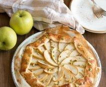 Recept: Zoete appelgalette met pistache