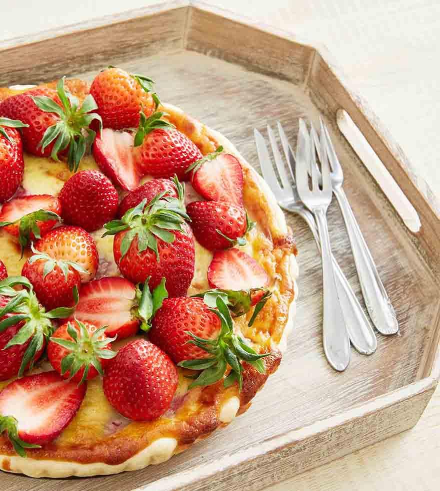 Recept: Aardbeien-mascarpone taart - Tante Fanny