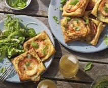Recept: Tomatensnacks met basilicumpesto