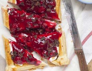 Recept: Kersen mascarpone strudel