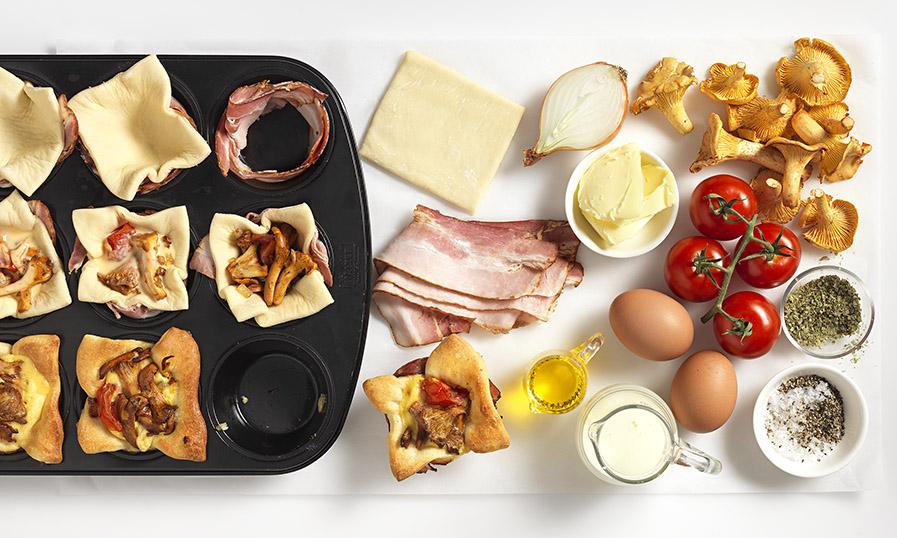 Recept: Paddenstoelen muffins - stappenplan - Tante Fanny