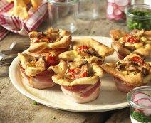 Recept: Paddenstoelen muffins
