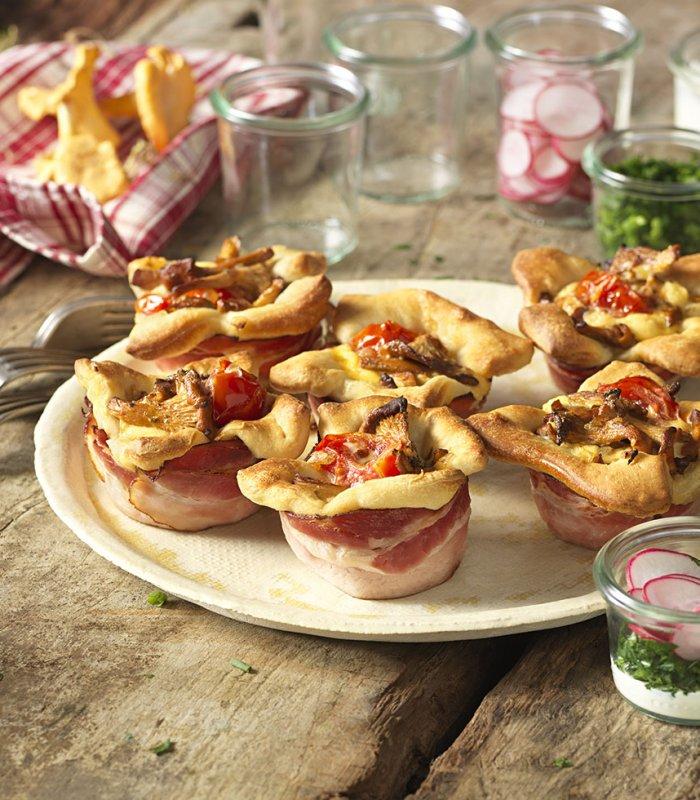 Recept: Paddestoelen muffins - Tante Fanny