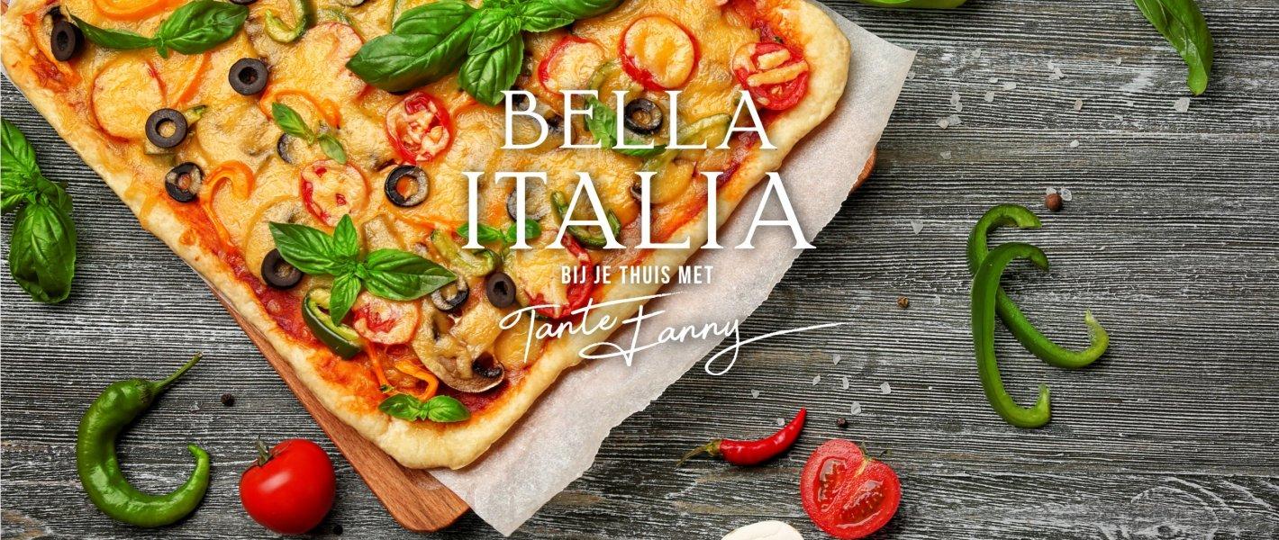 Waarom kiezen voor een kant-en klare pizzabodem -Tante Fanny deelt haar geheim