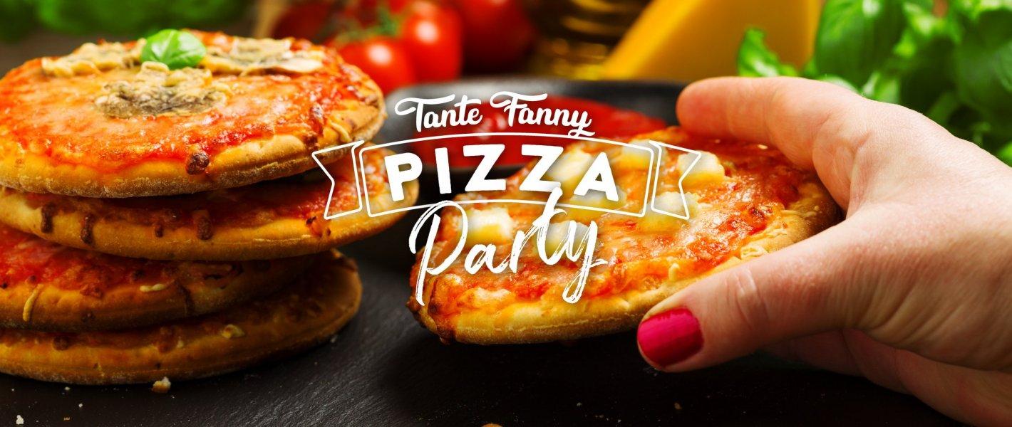 Minipizza hapjes serveren - Tante Fanny.nl