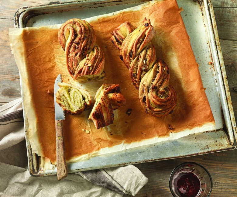 Recept: pizzavlecht met pompoenpittenstrudel - Tante Fanny