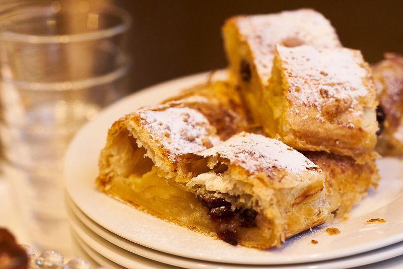 Recept: Feestelijke appelstrudel met cranberry & kruimelvulling - Tante Fanny