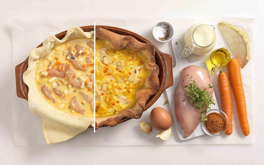 Recept: Krokante kipschotel - stappenplan - Tante Fanny