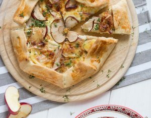 Recept: camembert galette met appel