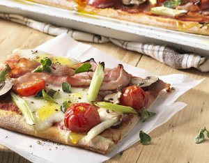 Recept: pizza Cardinale